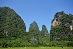 Yangshuo scenery Royalty Free Stock Photo
