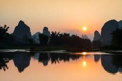 Yangshuo scenery. Eastphoto, tukuchina,  Yangshuo scenery, nature beauty Stock Image