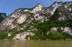 Yangshuo scenery. Green hills in Yangshuo,South China Stock Image