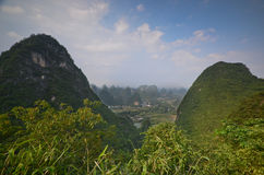 Yangshuo scenery Stock Photo