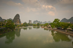 Yangshuo scenery Stock Photos