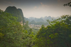 Yangshuo scenery Royalty Free Stock Image