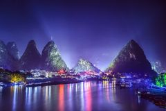 Yangshuo Skyline Stock Images