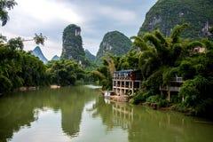 Yangshuo-Umgebungen Stockbild