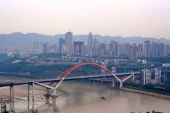 Yangtze-Fluss. Lizenzfreie Stockbilder