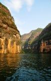 Yangtze Kleine Drie Kloven in Wushan China stock foto's