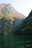 Yangtze Kleine Drie Kloven in Wushan China royalty-vrije stock afbeeldingen