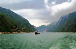 Yangtze-Landschaft stockfoto