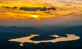 Yangtze River Bay Stock Images