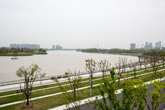 The Yangtze River branching channel Royalty Free Stock Images