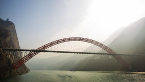 Yangtze River Bridge Royalty Free Stock Image
