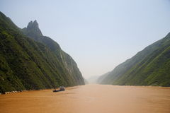 Yangtze river China Royalty Free Stock Image