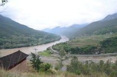 Yangtze river in China Royalty Free Stock Photos