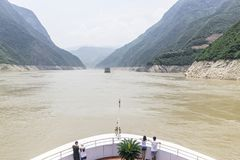Yangtze River Cruise Royalty Free Stock Images