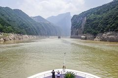 Yangtze River Cruise Stock Photo