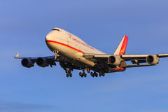 Yangtze River Express freight aircraft Royalty Free Stock Image