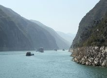 Yangtze River scenery Stock Image