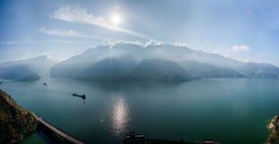 Yangtze River Three Gorges Qutangxia Fengjie River waters Stock Photos