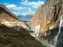 Yangtze river in Yunnan, China Stock Photography