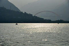 Yangtze Small Three Gorges At Wushan China Royalty Free Stock Photo