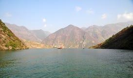 Yangtze Small Three Gorges At Wushan China Royalty Free Stock Photography