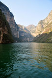 Yangtze Small Three Gorges At Wushan China Stock Image