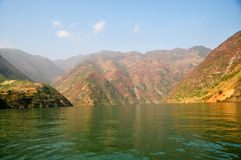 Yangtze Small Three Gorges At Wushan China Royalty Free Stock Photo