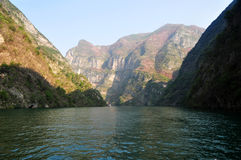 Yangtze Small Three Gorges At Wushan China Stock Photo
