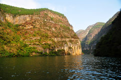 Yangtze Small Three Gorges At Wushan China Stock Images