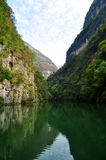 Yangtze Small Three Gorges At Wushan China. Chongqing Wushan Daning a small tributary of the Yangtze River Three Wushan Daning River Small Three Gorges Royalty Free Stock Photos