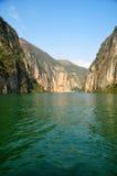 Yangtze Small Three Gorges At Wushan China Stock Photos