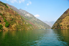Yangtze Small Three Gorges At Wushan Royalty Free Stock Image