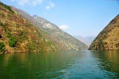 Yangtze Small Three Gorges At Wushan Royalty Free Stock Image