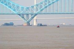 Yangtzet River Royaltyfri Bild
