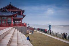 YANGUAN, городок ancinet на юге  Китая Стоковые Изображения