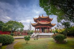 Yanguan, древний город южного Китая Стоковое Изображение RF