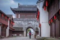 Yanguan, древний город южного Китая Стоковые Изображения RF