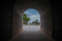 Yanguan, древний город южного Китая Стоковое фото RF