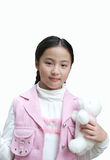 Yangxi An Beautiful girl From China. My name is Yang Xi, I from China. I was a pretty cute little girl. I'm 11 years old this year Royalty Free Stock Photo