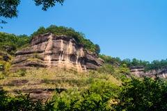 Yangyuanshi горы danxia стоковое изображение
