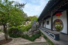 Yangzhou & x22 το πρώτο πάρκο προς το τέλος της Qing Dynasty& x22  - Καλλιεργεί Στοκ Εικόνες