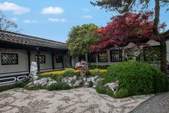 Yangzhou & x22 το πρώτο πάρκο προς το τέλος της Qing Dynasty& x22  - Καλλιεργεί Στοκ Φωτογραφίες