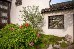 Yangzhou & x22 το πρώτο πάρκο προς το τέλος της Qing Dynasty& x22  - Καλλιεργεί Στοκ Εικόνα