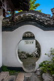 Yangzhou & x22 το πρώτο πάρκο προς το τέλος της Qing Dynasty& x22  - Κτήριο πάρκων Ho Στοκ εικόνα με δικαίωμα ελεύθερης χρήσης