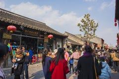 Yangzhou Dong Guan ulica fotografia royalty free