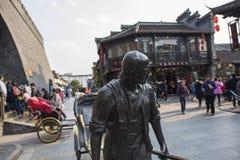 Yangzhou Dong Guan Uliczny Uliczny widok zdjęcia stock