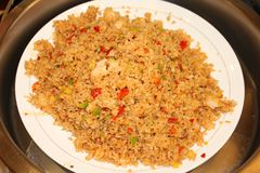 Yangzhou fried rice Stock Photo