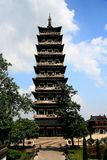 yangzhou, jiangau, porcelana Imagens de Stock Royalty Free