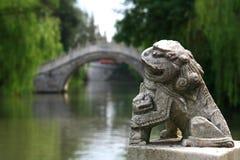 Yangzhou, jiangau, Porzellan stockbild