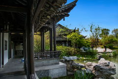 Yangzhou Slender West Lake on the garden Jinquan Huayu. Jinquan Huayu is the main attractions of Wan Garden, according to historical records, the history of royalty free stock photography